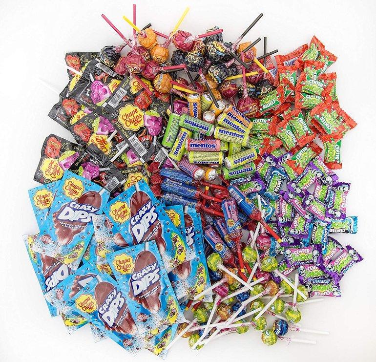 Chupa Chups Süßigkeiten Party-Mix mit 1,87kg für 18,99€ mit Prime