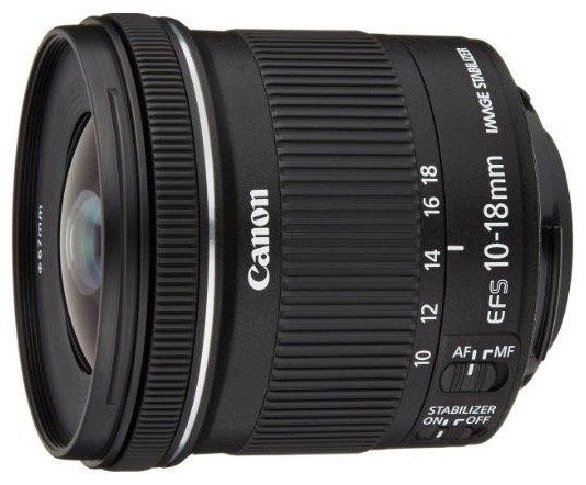 Canon EF-S 10-18mm Objektiv in Schwarz für 199€ abzgl. 30€ Cashback = 169€