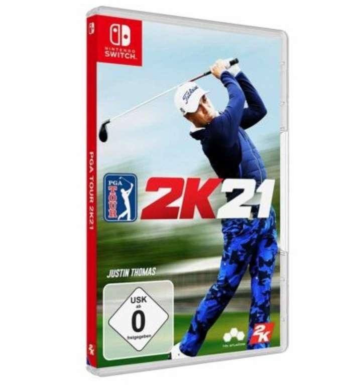 PGA Tour 2K21 (Nintendo Switch) für 20,92€ inkl. Versand (statt 25€)