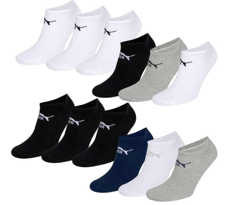 18 Paar Puma Clyde Unisex Sneaker Socken für 29,99€ inkl. Versand (statt 38€)