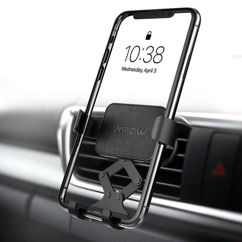 Mpow Universal KFZ Handy Halterung (Befestigung an der Lüftung) für 5,99€ mit Prime