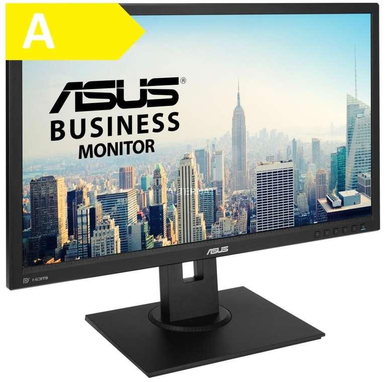 """Asus BE249QLBH - 23.8""""-FHD-Monitor (IPS, 1000:1, Höhenverstellung, Pivot, Lautsprecher) für 124,90€"""