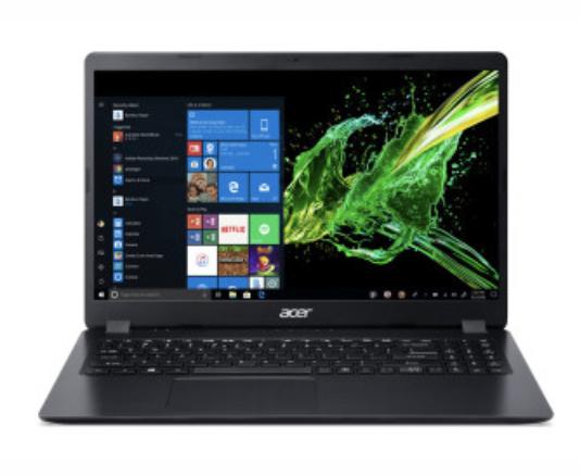 """Acer Aspire 3 (A315-54K-34G9) 39,62 cm (15,6"""") Notebook in schwarz für 354,99€ inkl. Versand (statt 389€)"""