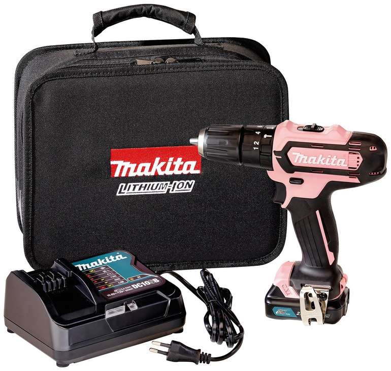 Makita Akku-Schlagbohrschrauber 12V HP331DSAP1 Pink Edition für 99,16€ inkl. Versand (statt 117€)