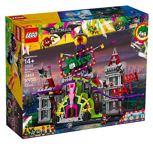 LEGO Batman Movie - The Joker Manor (70922) für 188,99€ inkl. Versand