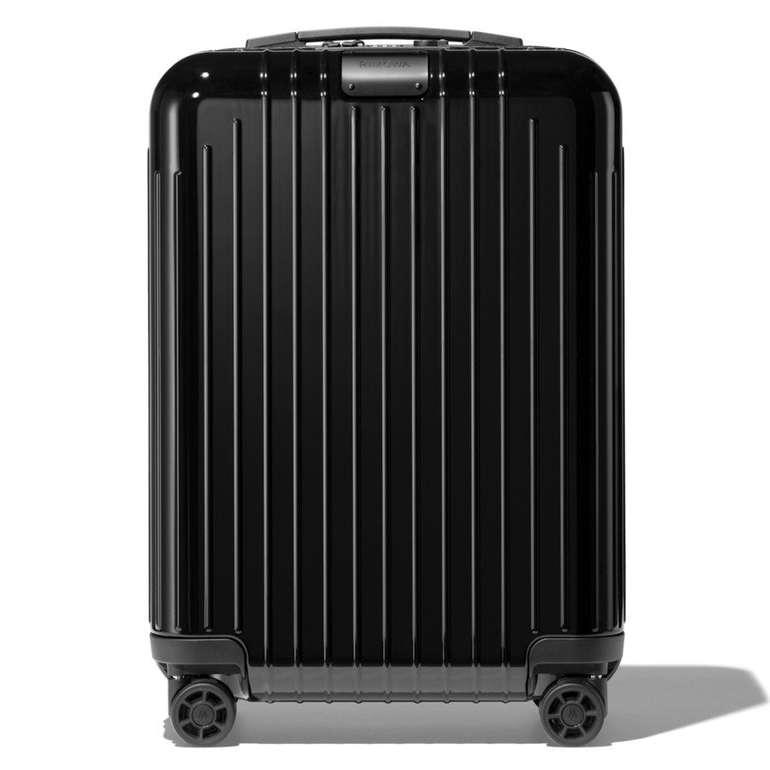 Rimowa Essential Lite Cabin S Hartschalen Koffer in Black Gloss für 312€ (statt 400€)
