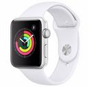 Apple Watch Series 3 42mm GPS + Sportarmband (weiss) für 289€