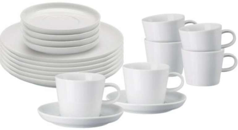 18-tlg. Arzberg 42100-590003-2835 Cucina-Basic ROK Kaffeegeschirr-Set für 39€
