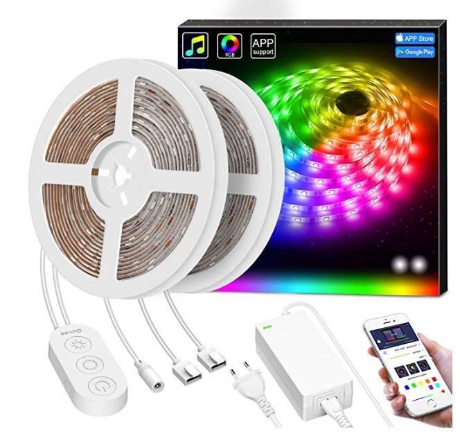 10m Minger Dreamcolor Smart LED Streifen mit App-Steuerung ab 35,99€ (statt 60€)