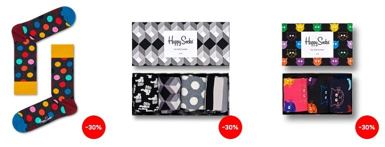 Happy Socks Black Friday Sale 2
