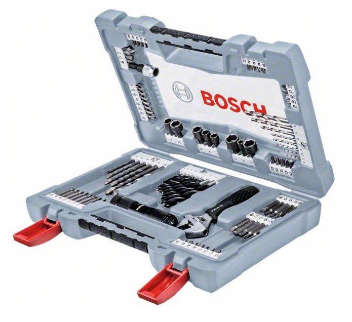 Bosch Premium X-Line Bohrer- und Schrauber-Set, 91-teilig für 26,14€