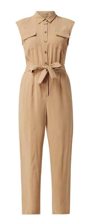 Peek & Cloppenburg*: 30% Rabatt auf exklusive Ware - z.B. Jake*s Collection Jumpsuit mit Taillengürtel - Beige für 27,99€ inkl. Versand (statt 40€)