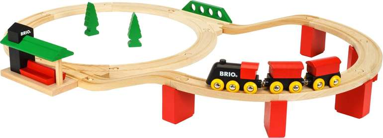 """Brio® Spielzeug-Eisenbahn """"Classic Deluxe-Set"""" für 41,94€ inkl. Versand (statt 60€)"""