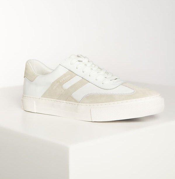 Marc O'Polo Damen Sneaker in Weiß/Grau für 50,95€ inkl. Versand (statt 63€)
