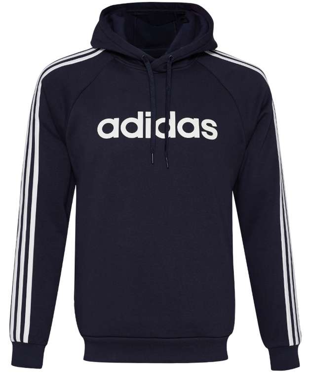 adidas 3 Stripes Linear Fleece Herren Hoodie für 28,94€inkl. Versand (statt 45€)