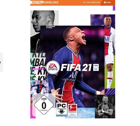 FIFA 21 Standard Edition PC-Spiel für 13,09€ inkl. Versand (statt 23€)