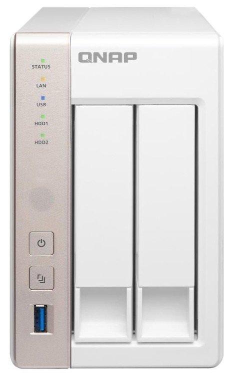 QNAP TS-251 2-Bay NAS-Leergehäuse für 177€ inkl. Versand