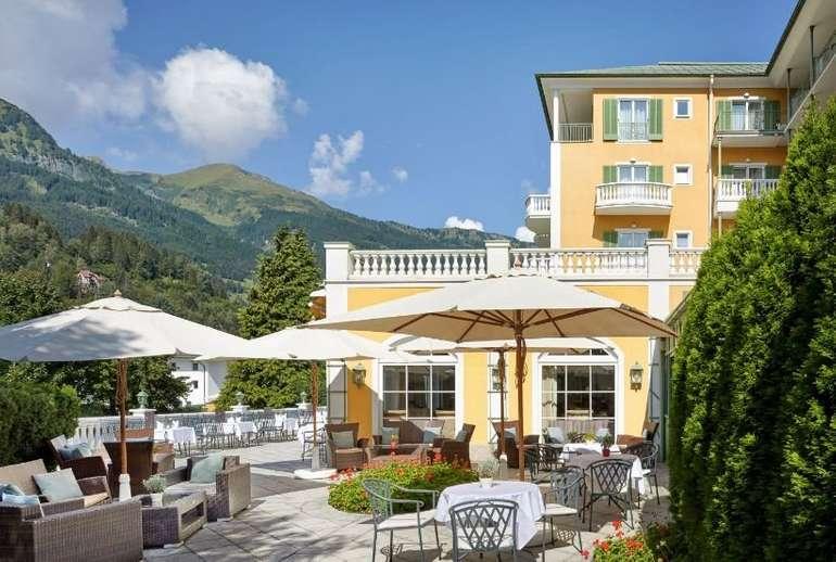 Bad Hofgastein: 4* Wellnesshotel Das Alpenhaus Gasteinertal im Doppelzimmer inkl. Halbpension für 129,00€