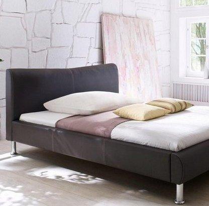 meise.möbel Polsterbett mit Kunstlederbezug (140x200cm) für 169,99€ (statt 272€)