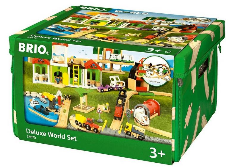 Brio - World Set Deluxe 33870 für 146,70€ inkl. Versand (statt 187€)