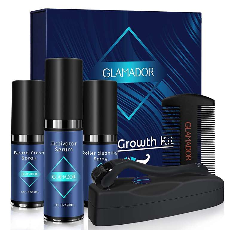 Glamador Bartwachstum Kit für 18,84€ inkl. Prime Versand (statt 29€)