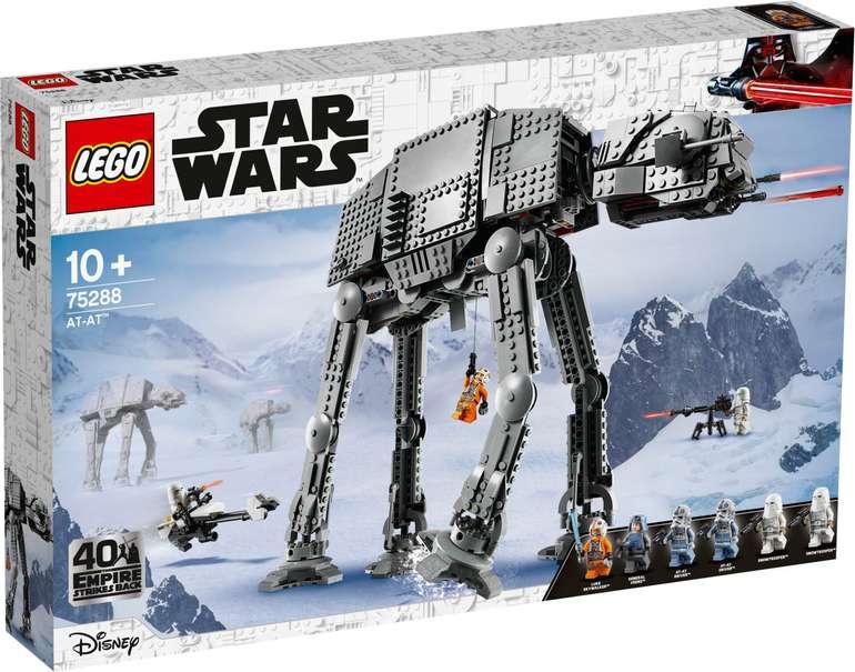 Lego 75288 Star Wars - AT-AT für 102,90€ (statt 112€)
