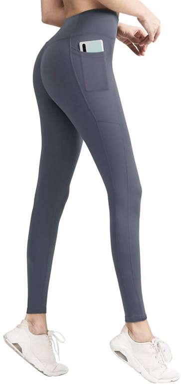 Joyspace Damen Sport Leggings mit Taschen in 2 Farben für je 10,99€ inkl. Prime Versand (statt 22€)