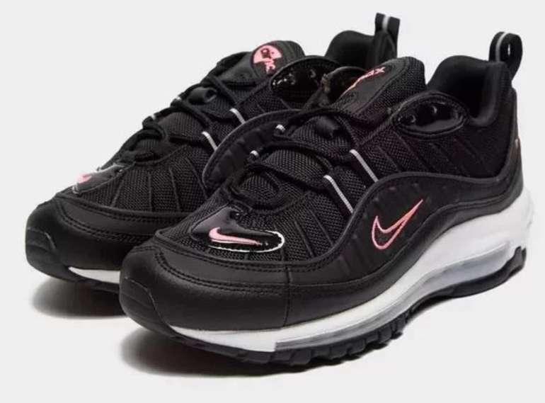 JD Sports Sale mit bis zu 50% Rabatt - z.B. Nike Air Max 98 Damen für 80€ (statt 108€)