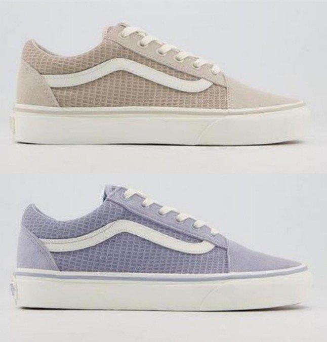Vans Old Skool Trainer Multi Woven Unisex Sneaker (versch. Farben) für je 55€ inkl. Versand (statt 80€)