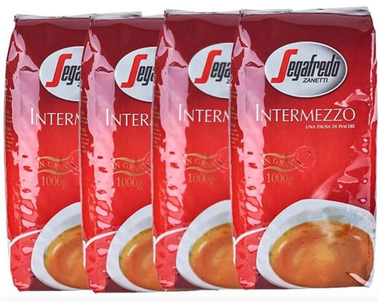 4kg Segafredo Intermezzo Ganze Bohnen für 24,99€ inkl. Versand (statt 35€) - Paydirekt!
