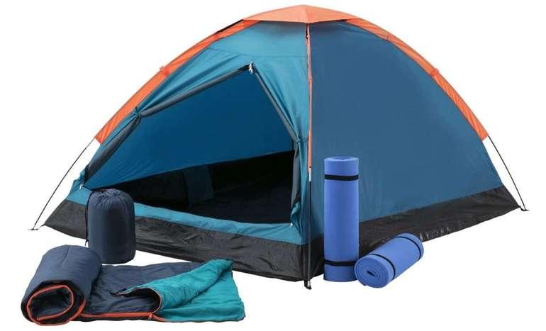 McKinley Kuppelzelt Festent Set mit je 2 Matten und Schlafsäcken für 50,99€ inkl. Versand (statt 63€)