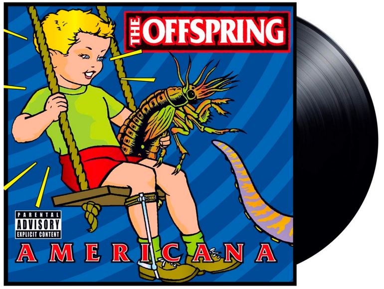 The Offspring - Americana (Vinyl) für 21,99€ inkl. Versand (statt 28€)