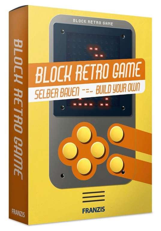 Franzis Block Retro Game (Bausatz) für 4,99€ inkl. Versand (statt 14€)