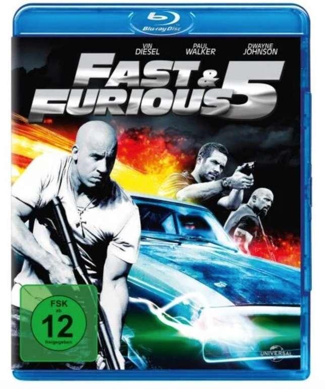 Fast & Furious 5 (Blu-ray) für 3,66€ inkl. Versand (statt 7€)