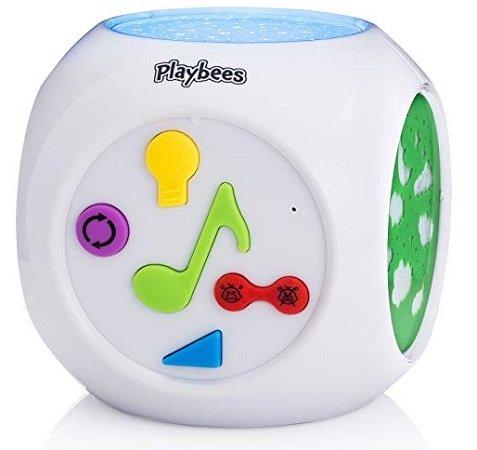 Playbees - Baby Nachtlicht Projektor mit Sound für 8,54€ inkl. VSK
