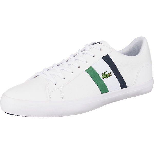 Lacoste Lerond Sneakers Low in weiß für 43,94€ inkl. Versand - Gr. 41, 44, 44.5, 45