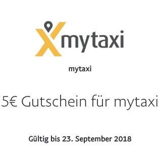 5€ Gutschein für myTaxi bei Zahlung mit PayPal + weitere 7€ per Code
