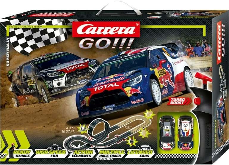 Carrera Go!!! Super Rally Autorennbahn für 35,09€ inkl. Versand (statt 44€)