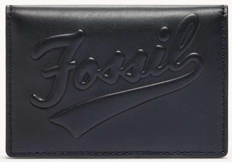 Fossil Bifold-Kartenmäppchen Morgan in Schwarz für 15,60€inkl. Versand (statt 30€)