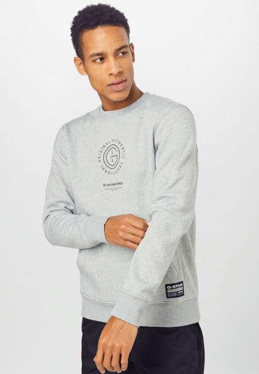 G-Star RAW Sweatshirt in anthrazit für 29,95€ inkl. Versand (statt 70€)
