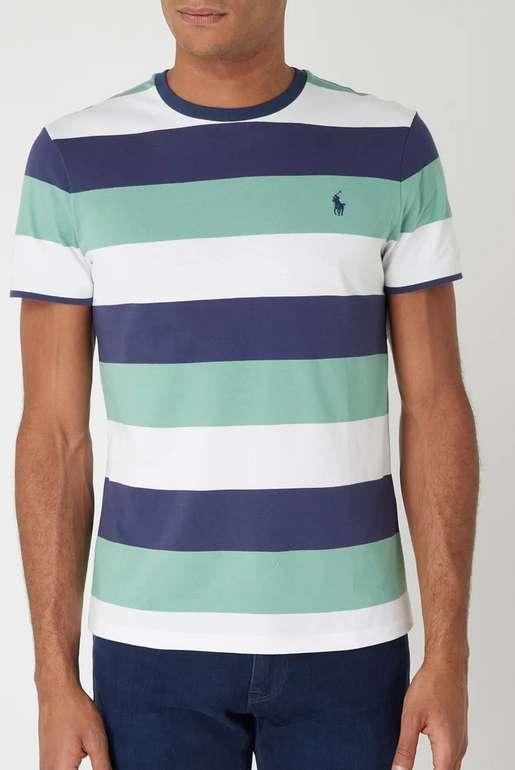 Ansons: Polo Ralph Lauren Produkte stark reduziert! - z.B Polo Ralph Lauren Custom Slim Fit T-Shirt für 23,99€