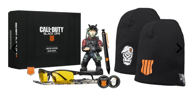 Bigbox Call of Duty Black Ops 4 Fanbox (Cable Guy, Mütze, Kulli, uvm.) zu 24,48€