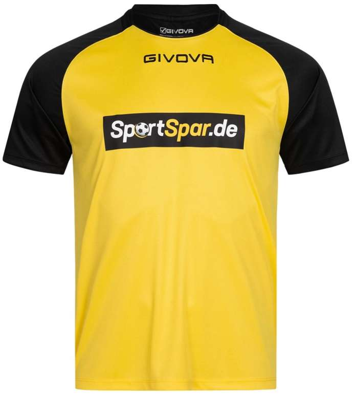 Givova x Sportspar.de Capo MAC03 Herren Trikot für 8,44€ inkl. Versand (statt 10€)