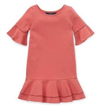 Polo Ralph Lauren Kinderkleid 'Ponte Dress' für 26,91€ - Gr. 130-174 (statt 80€)