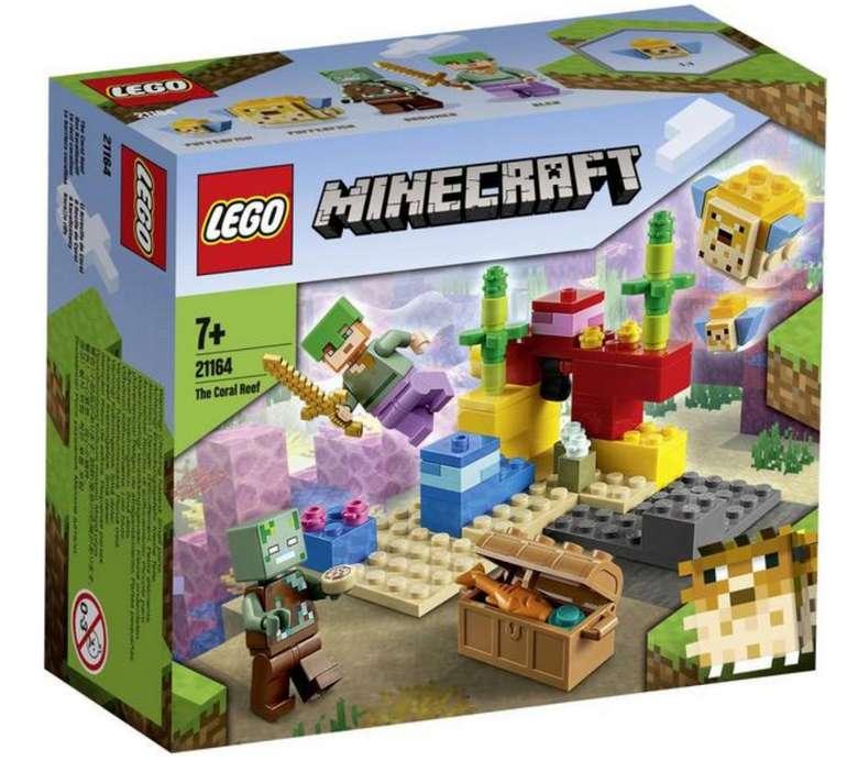 Lego Minecraft - Das Korallenriff (21164) für 7,59€ inkl. Versand (statt 13€) - Thalia Club!