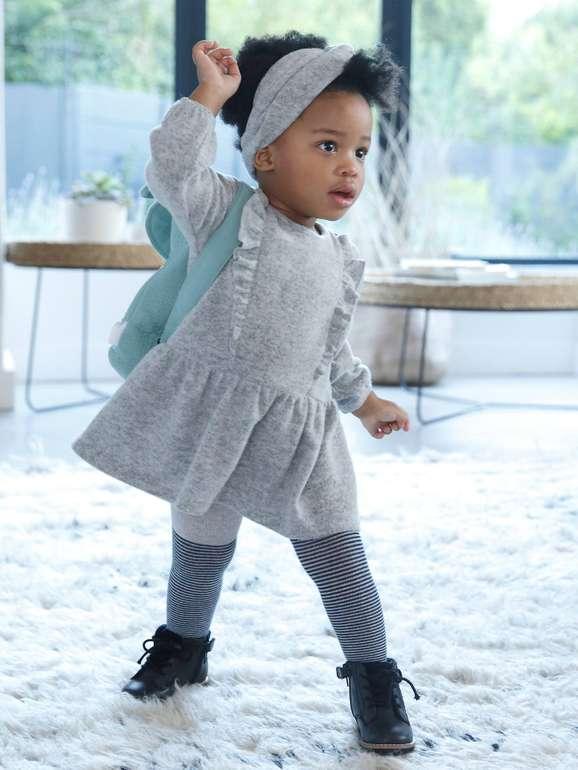 Vertbaudet: Bis zu -30% auf ausgewählte Wintermode für Kinder + VSKfrei, z.B. Baby Set für 16,09€