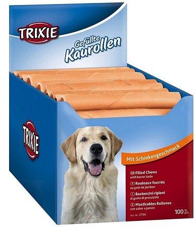 Hot! 100er Pack gefüllte Hunde-Kaurollen von Trixie für nur 11,54€ (statt 45€)