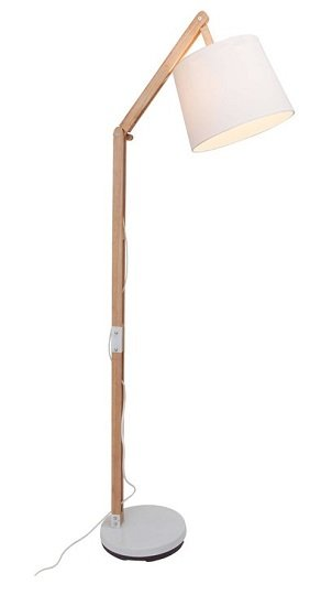 Brilliant Carlyn Standleuchte (1-flammig) für 64,94€ inkl. VSK (statt 98€)