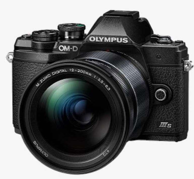Olympus E‑M10 Mark III S 12‑200 mm Kit (E‑M10 Mark III S Body + M.Zuiko Digital ED 12‑200mm F3.5‑6.3 Objektiv) für 799€