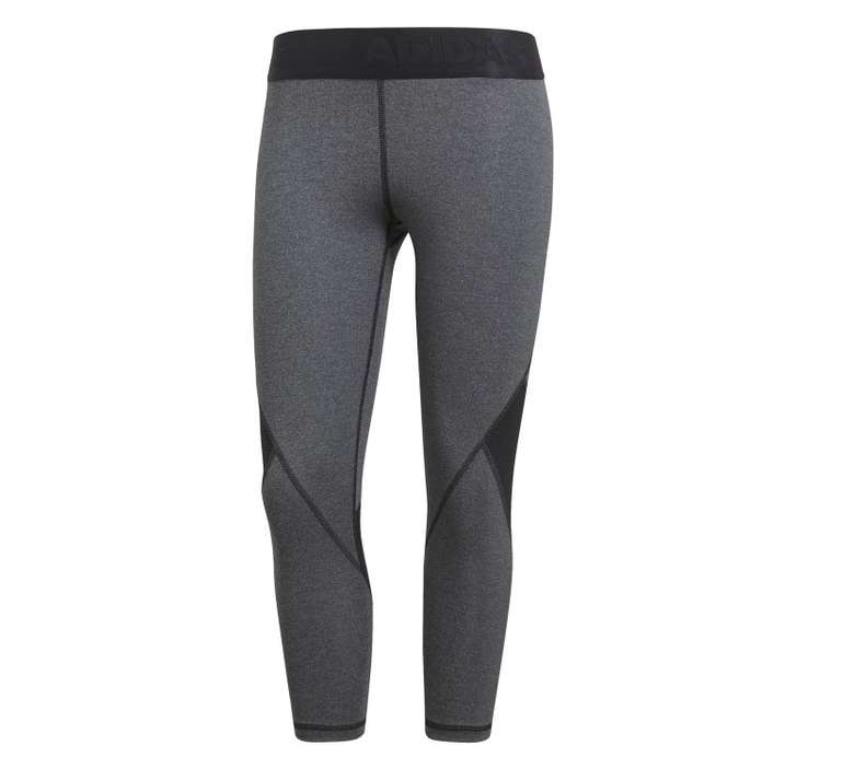 Adidas Alphaskin Damen 3/4 Sport Tight Heather für 15,36€ inkl. Versand (statt 22€)